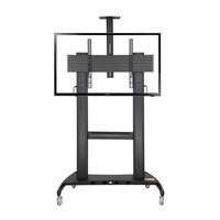 iBOARD IBTMSS658001 Height Adj Floor Stand for 65 70 84""