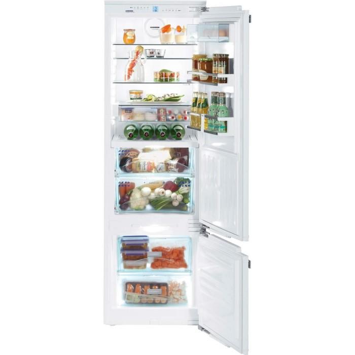 liebherr icbp3256 premium biofresh smartfrost 80 20 door on door integrated fridge freezer. Black Bedroom Furniture Sets. Home Design Ideas