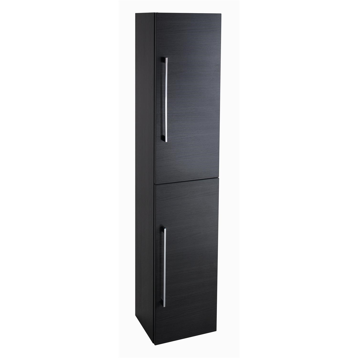 kitchen cabinets 300mm wide moderno black ash wall mount bathroom storage cabinet 19892