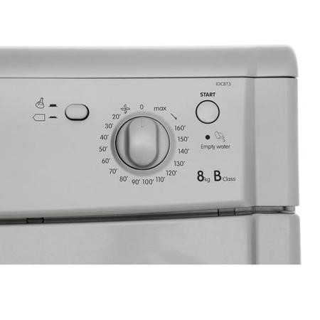 Indesit IDC8T3BS 8kg Freestanding Condenser Tumble Dryer - Silver