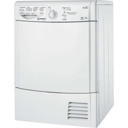 Indesit IDCL85BH EcoTime 8kg Freestanding Condenser Tumble Dryer-White