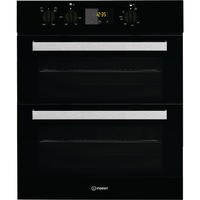 Indesit IDU6340BL Aria Electric Built-under Double Oven Black