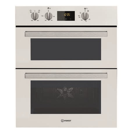 Indesit IDU6340WH Aria Electric Built-under Double Oven White