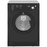 Indesit IDV75BK 7kg Freestanding Vented Sensor Tumble Dryer Black