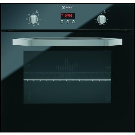Indesit IFG63KANR Electric Multifunction Single Oven - Black