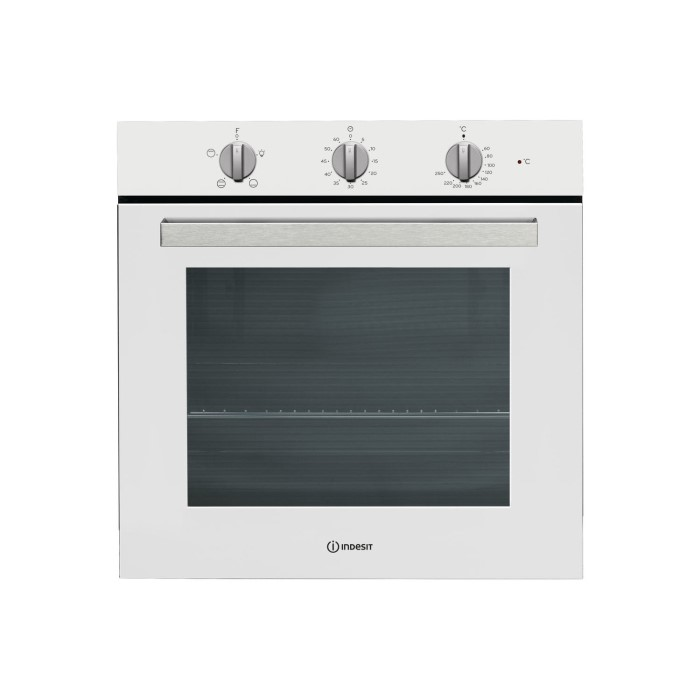 Indesit ifw6230whuk four function electric built in single oven white appliances direct - Forno da incasso elettrico ...