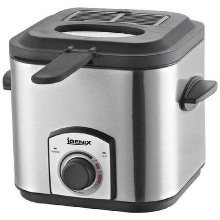 Igenix IG8012 1.2 Litre Stainless Steel Mini Fryer
