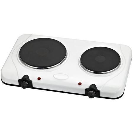 Igenix IG8020 Double Hotplate 2250w White