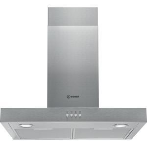 GRADE A2 - Indesit IHBS64AMX T-Box 60cm Chimney Cooker Hood Stainless Steel