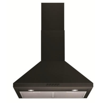 Indesit IHP65FCMK 60cm Chimney Hood - Black