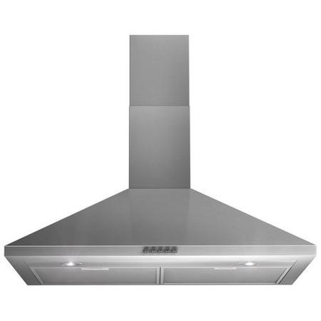 Indesit IHP945CMIX 90cm Chimney Cooker Hood Stainless Steel