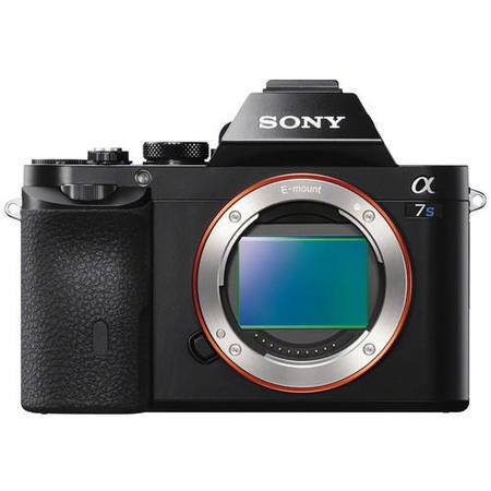 Sony Alpha A7S SLR Camera Black Body Only 12.2MP E-mount Full-Frame Sensor