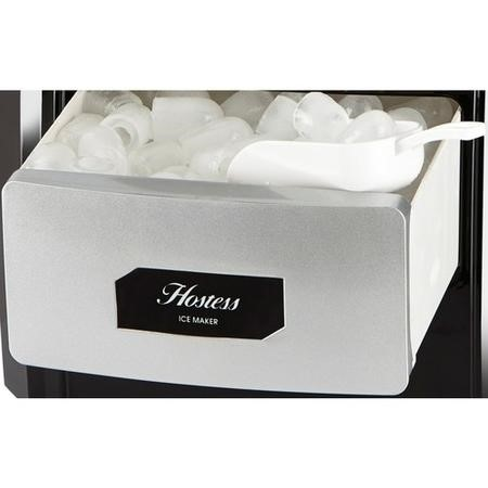 Hostess IM03A Ice Maker Silver