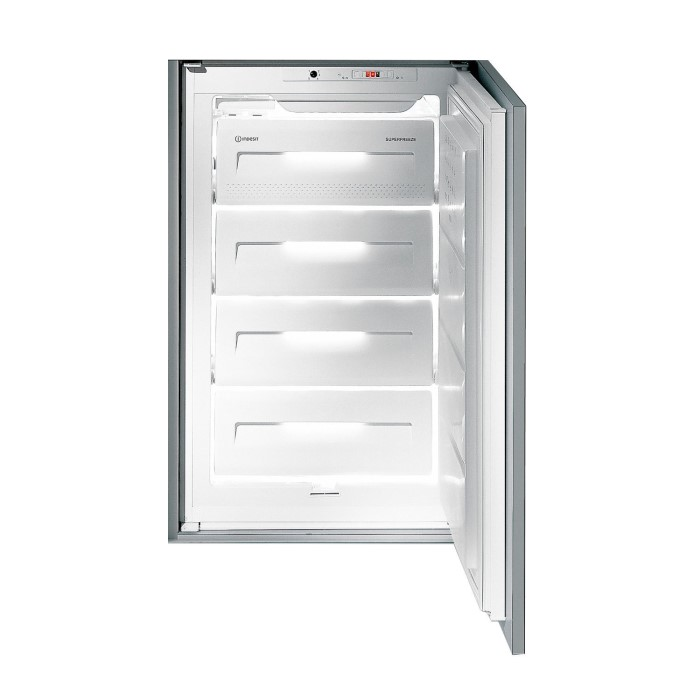 Indesit INF14121 54cm Wide Integrated Upright In-Column Freezer ...