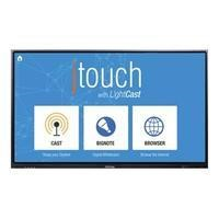 INFOCUS INF6501cAG 65inch 1920x1080 full HD W-LED JTouch+Lightcast Anti-Glare responsive 6-point touch HDMI x4 VGA component composite USB hub USB 3.0 x4 3.5mm audio