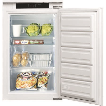 Indesit INF901EAA 100 Litre Integrated In Column Freezer 88cm Tall A+ Energy Rating 54cm Wide - White