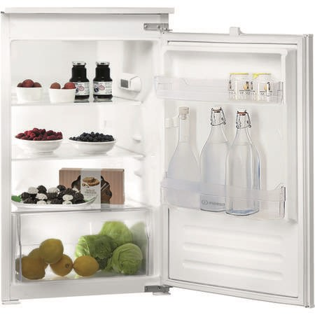 INDESIT INS901AA 137 Litre Integrated In Column Fridge 88cm Tall A+ Energy Rating 54cm Wide - White