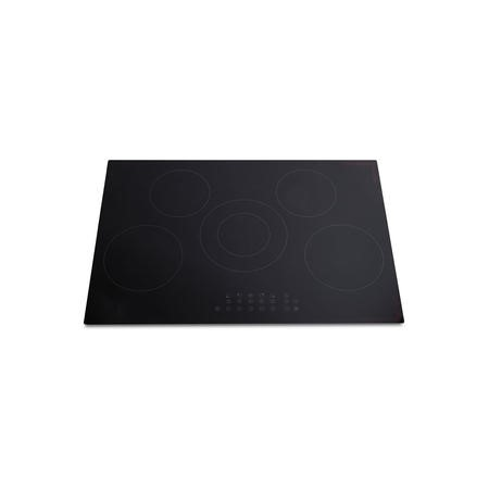 Montpellier INT785 77cm Touch Control Five Zone Induction Hob - Black