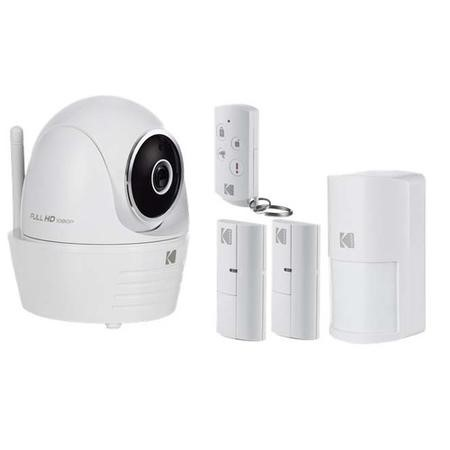 Kodak IP101WG Security Camera Full HD Premium Kit Edition with Connected Smart Home Accessories