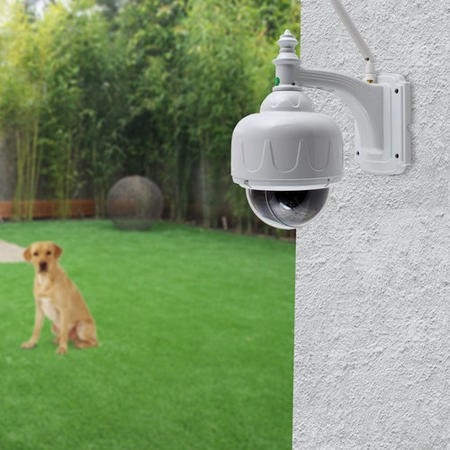 electriQ Full HD 1080p Wi-Fi Outdoor Pet and Child Monitoring Camera