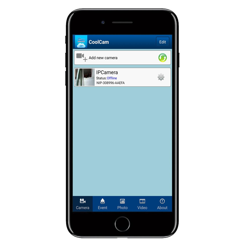 electriQ HD 720p Wifi Pet Monitoring Pan Tilt Zoom Camera with 2-way Audio  & dedicated App - Blue