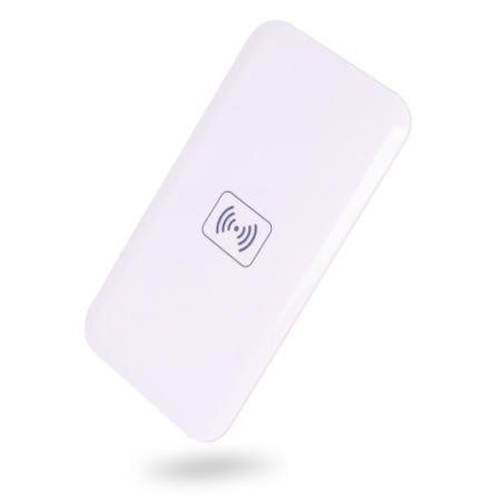 Qi Wireless Charging Pad For Mobile Phones - White