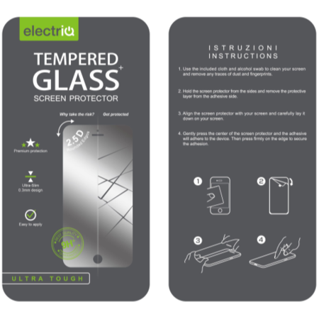 IQ Magic Tempered Glass Protector For LG G4