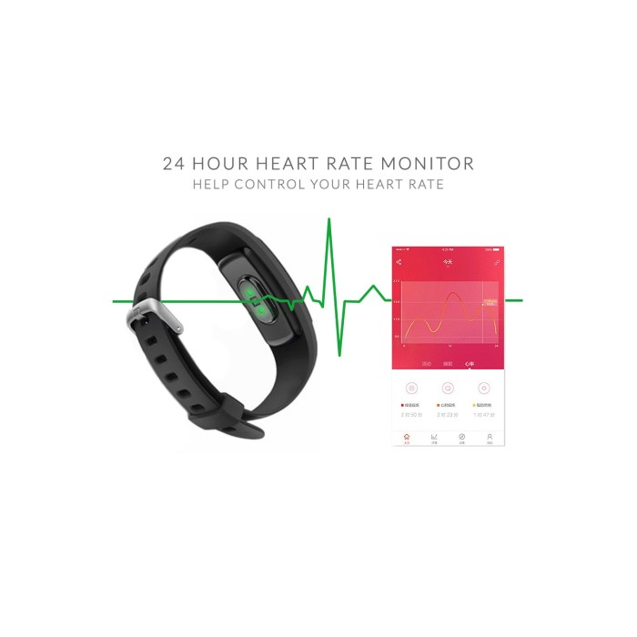 fed6da4ba5a4 IQ PLUS Fitness Tracker with Connected GPS and Multi Sport Mode - Compatible  with Android &