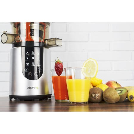 electriQ IQWFSL Whole Fruit Cold Press Juicer Perfect For Greens Juices and Smoothies