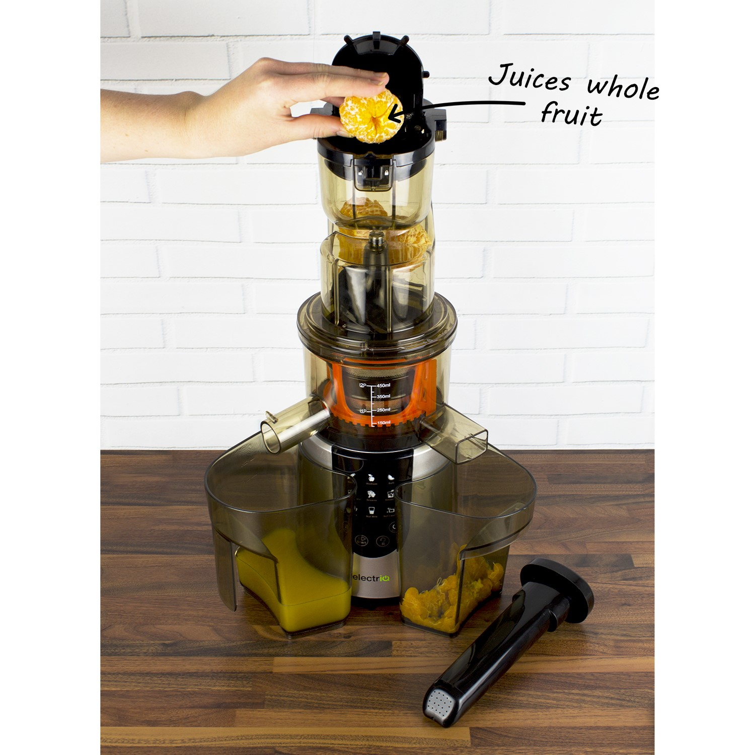 Slow Juicer For Greens : ELECTRIQ SLOW Whole Fruit Juicer perfect for Cold Pressed Greens Juices a IQWFSL - ?65.97 ...