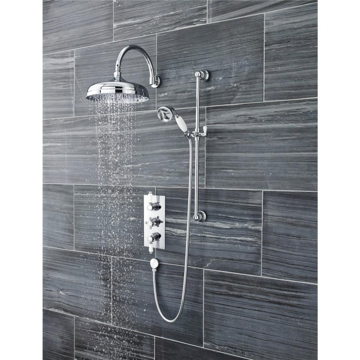 Taylor & Moore Triple Thermostatic Shower Valve ITY315   Appliances ...