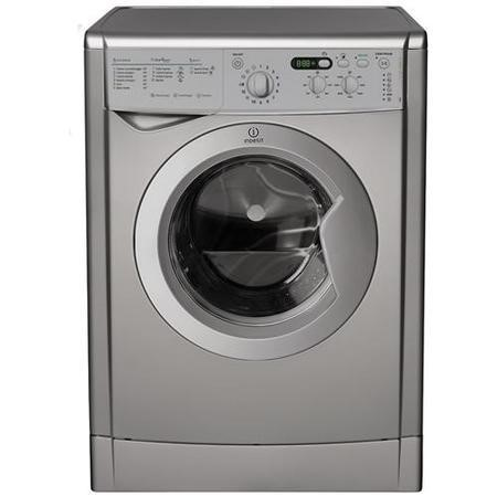Indesit IWD7145S 7kg 1400rpm Freestanding Washing Machine - Silver
