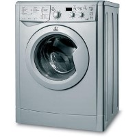 INDESIT IWDD7143S 7kg Wash 5kg Dry 1400rpm Freestanding Washer Dryer-Silver