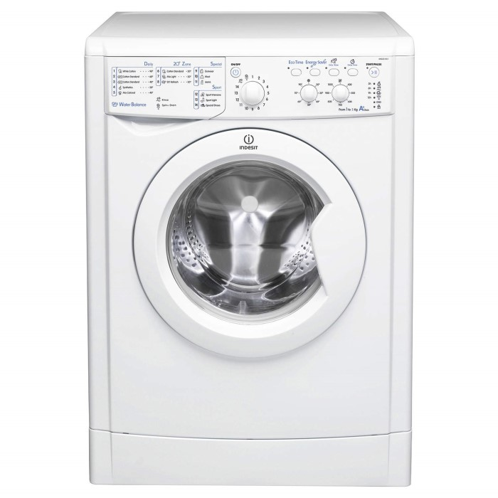 indesit iwsc51051 5kg 1000rpm white freestanding washing machine appliances direct. Black Bedroom Furniture Sets. Home Design Ideas