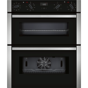 Excellent Grade A3 Neff U15M52N3Gb Electric Built In Double Oven Stainless Wiring Cloud Nuvitbieswglorg