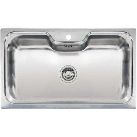 Reginox JUMBO Extra Large 1.0 Bowl Inset Stainless Steel Sink ...