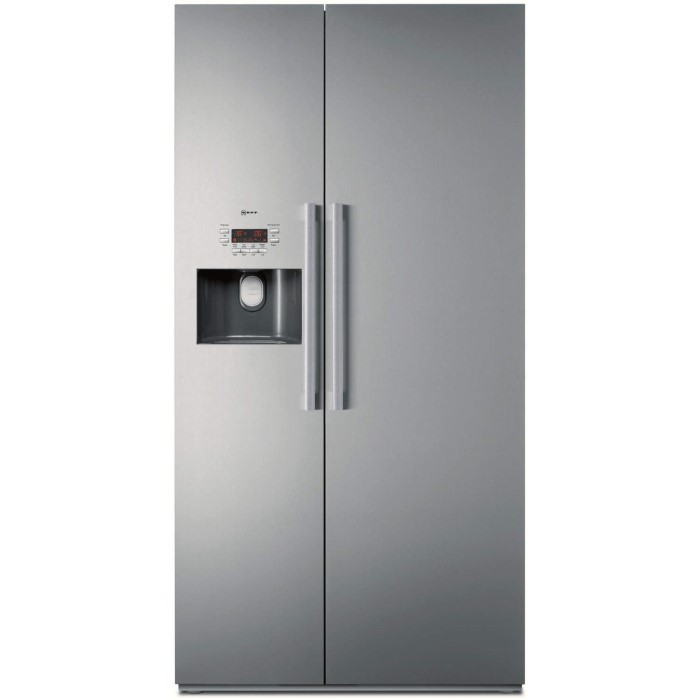 neff k3990x7gb american style american fridge freezer fully clad stainless steel with ice and. Black Bedroom Furniture Sets. Home Design Ideas