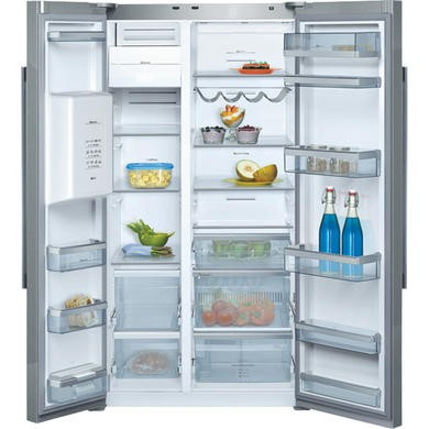 Neff K5930D1GB Frost Free American Fridge Freezer With Stainless Steel Doors