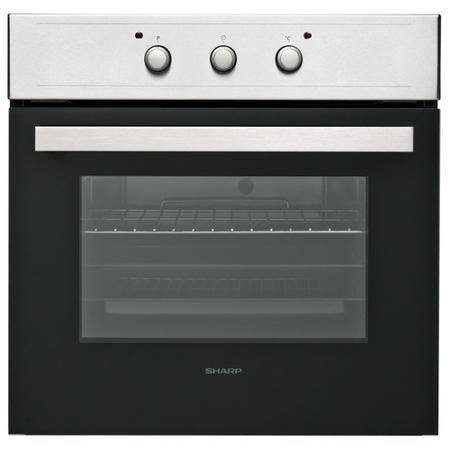 Sharp K64IX 65L Single Electric Fan Oven - Stainless Steel