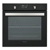 Sharp K70V19BM2 Electric Single Multifunction Oven Black