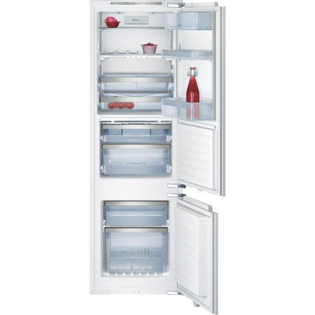 Neff K8345X0 Series 5 56cm Wide Frost Free 70-30 Integrated Upright Fridge Freezer - White