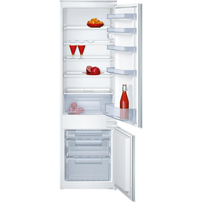 02f4ce8c4c9 NEFF K8524X8GB 54cm Wide 70-30 Integrated Upright Fridge Freezer - White  K8524X8GB