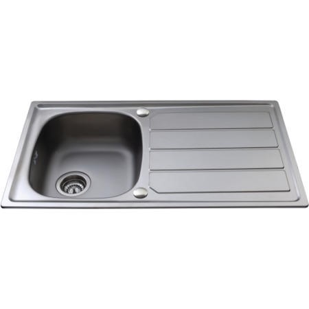 CDA KA30SS 1.0 Bowl Reversible Stainless Steel Sink