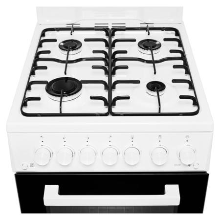 Beko KA52NEW 50cm Gas Cooker With Eye Level Grill - White