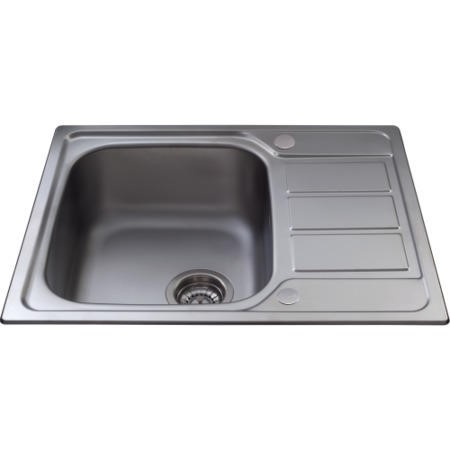 CDA KA55SS Ultra Compact 1.0 Bowl Reversible Stainless Steel Sink