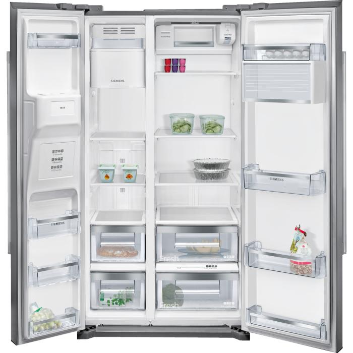 Siemens Ka90dvi20g Iq500 Side By Side American Fridge Freezer
