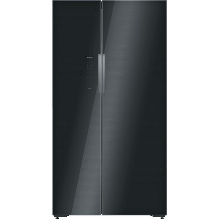 Siemens Ka92nlb35g Iq700 Side By Side Fridge Freezer Black