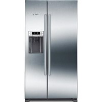 Bosch KAD90VI20G Side by Side Fridge Freezer - Easyclean Stainless Steel Best Price, Cheapest Prices
