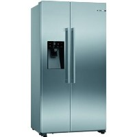 GRADE A1 - Bosch KAD93VIFPG Serie 6 American Side-by-side Fridge Freezer - Easyclean Stainless Steel Best Price, Cheapest Prices