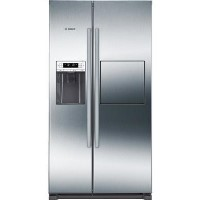 Bosch Serie 6 KAG90AI20G Side-by-Side American Fridge Freezer Stainless Steel Best Price, Cheapest Prices